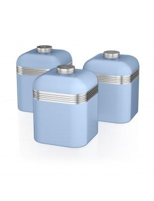 Retro 3 Canisters BLUE SWKA1020BLN