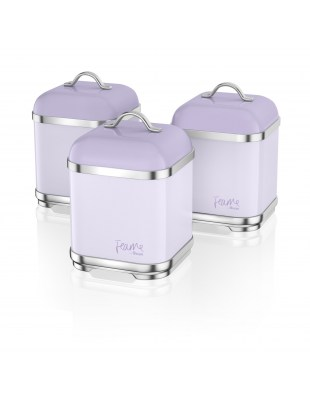 Set of 3 Canisters LILY SWKA1025LYN