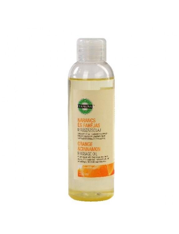 Olej do masażu z ekstraktem z pomarańczy i cynamonu - 250 ml