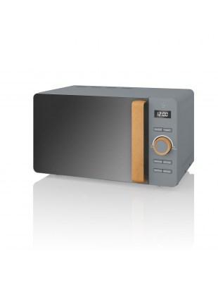 Nordic Digital Microwave GREY SM22036GRYN