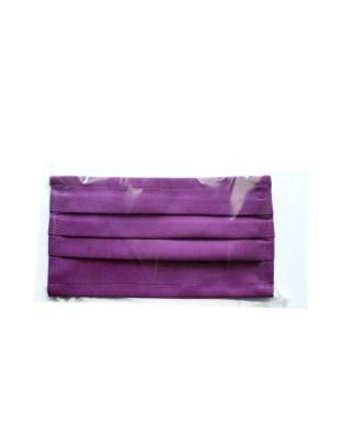 Maseczka bawełniana wielokrotnego użytku - fuksja