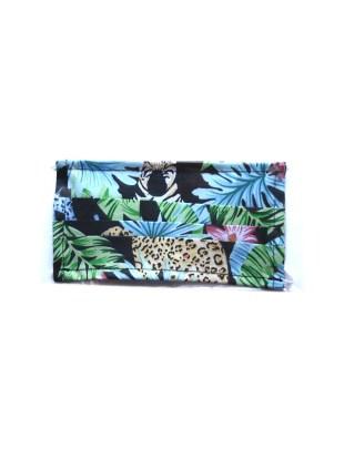 Maseczka bawełniana wielokrotnego użytku - wzór dżungla