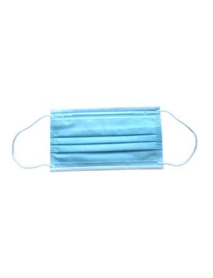 Maseczka ochronna z włókniny polietylenowej 3 warstwowa - 10szt