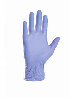 Rękawiczki nitrylowe rozmiar M purple blue - opakowanie 100 szt.