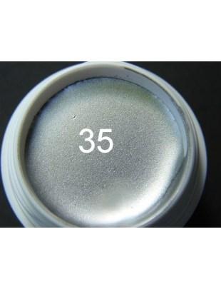 Żel a.t.a 5 ml kolor srebro nr 35