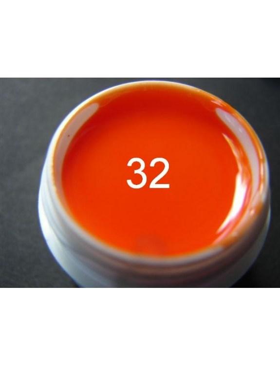 Żel a.t.a 5 ml kolor pomarańcza nr 32