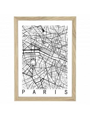 Obraz Mapa Paris
