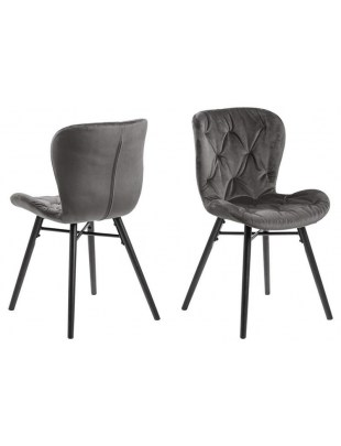 Krzesło BATILDA VIC fabric dark grey 28