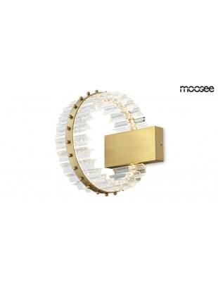 MOOSEE Kinkiet SATURNUS WALL - złoty, szkło