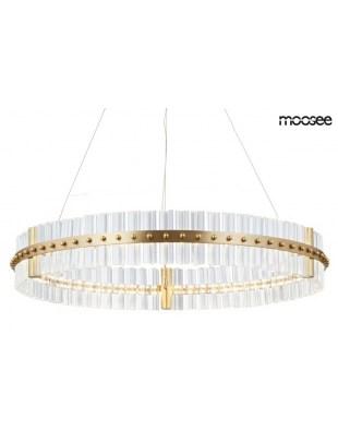 MOOSEE Lampa wisząca SATURNUS 70 - złoty, szkło
