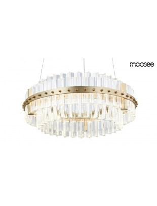 MOOSEE Lampa wisząca SATURNUS 47 DUO - złoty, szkło
