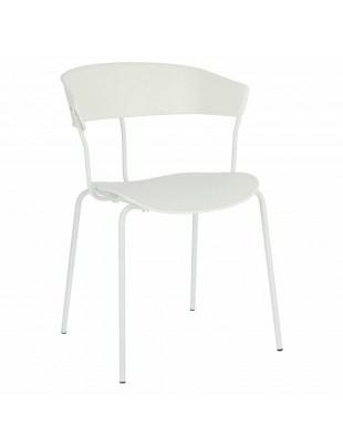 Krzesło Laugar białe