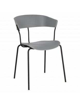 Krzesło Laugar szare