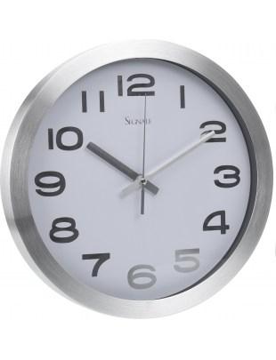 Zegar Silfur biały