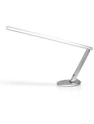 Lampa do manicure (srebrna) na stół - jasne światło