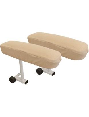 Pokrowiec (frotte) na podłokietniki fotela kosmetycznego