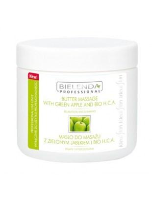 BIELENDA masło-500ml-do masażu zielone jabłko i BIO H.C.A.
