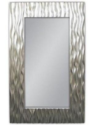 Lustro wiszące Tree 100x160 srebrny