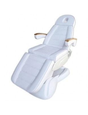 Fotel kosmetyczny CH 273 MAXEM z podgrzewaniem biały