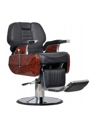 Fotel fryzjerski Ambasciatori czarny