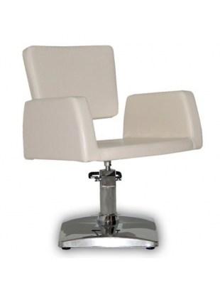 Fotel fryzjerski VIVA bezowy