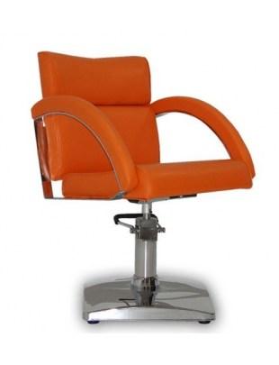 Fotel fryzjerski VERONA POMARAŃCZOWY