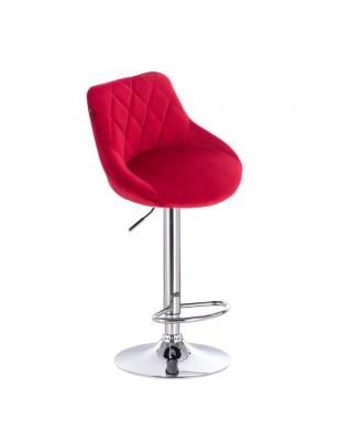 EMILIO - Czerwone krzesło / hoker WYBÓR PODSTAW