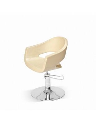 Fotel fryzjerski Novika - złoty