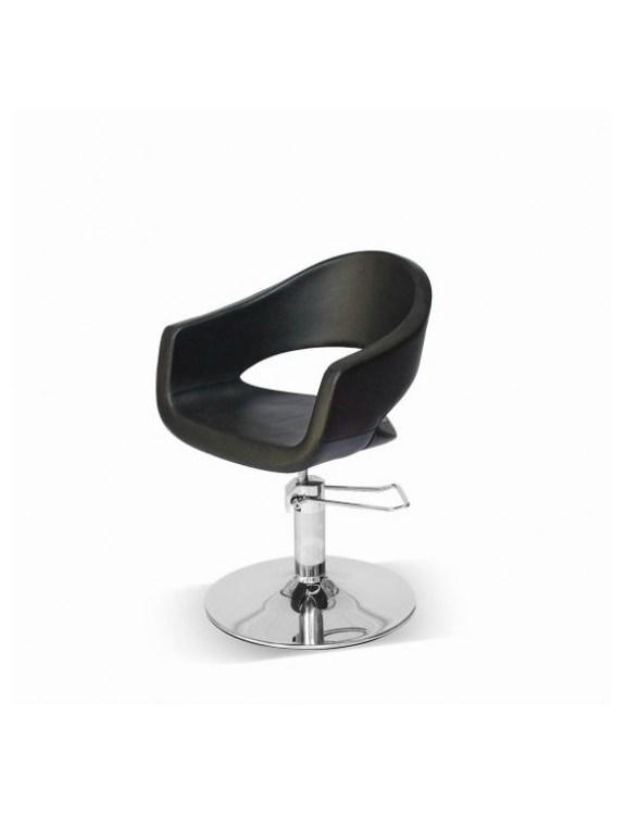 Fotel fryzjerski Novika - czarny
