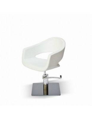 Fotel fryzjerski Novika - biały