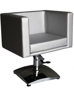 Fotel fryzjerski FIGARO MASSA 1374 srebrny