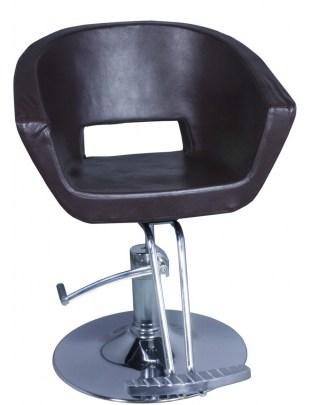 Fotel fryzjerski TRIEST 2004 brązowa