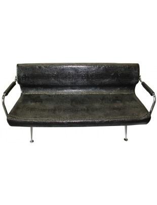 Finale 1877 - sofa do poczekalni czarna