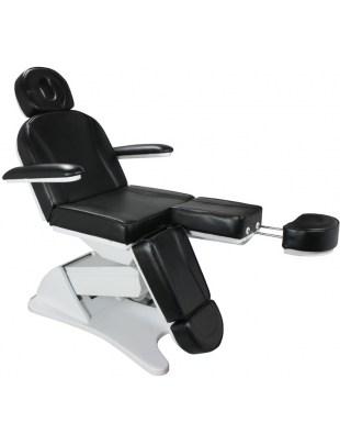 1596 - Fotel kosmetyczny pedicure elektryczny - czarny
