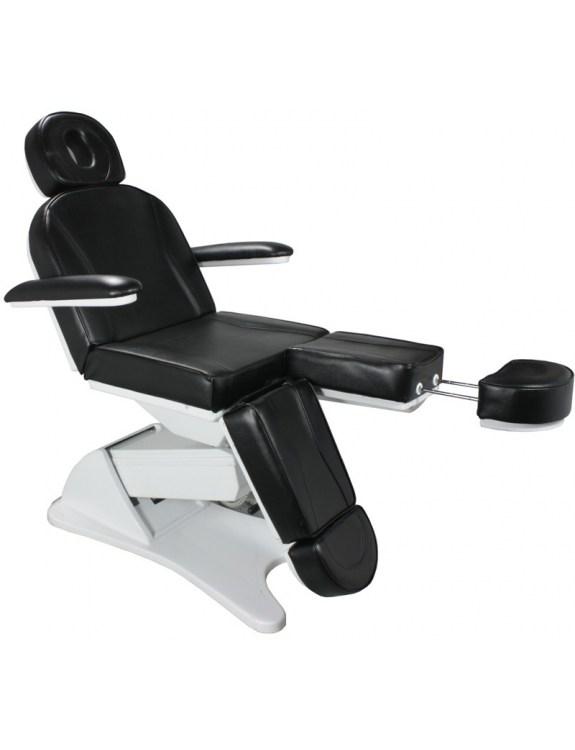 Fotel kosmetyczny 1596 elektryczny - czarny