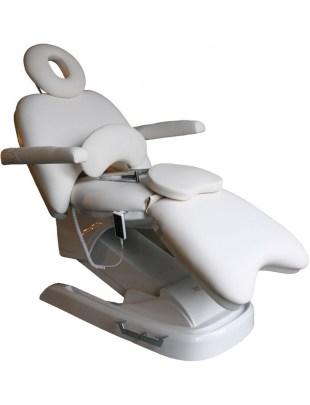 1936 - Fotel kosmetyczny elektryczny  biały