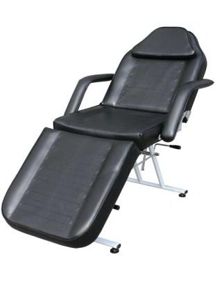 1067 - Fotel kosmetyczny trójdzielny czarny