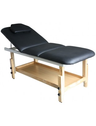 Leżanka do masażu 1079 czarna