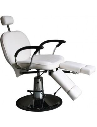 Fotel kosmetyczny 1811 biały