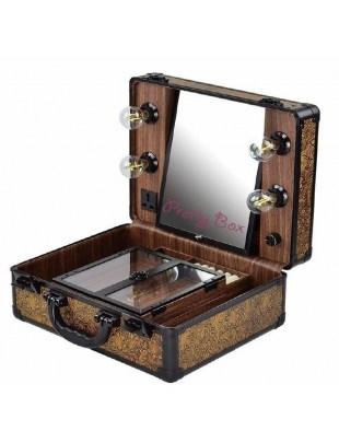 Kufer kosmetyczny - GOLD