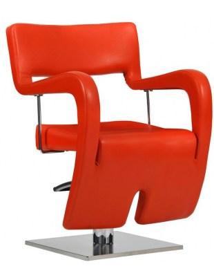 Fotel Neapol czerwony