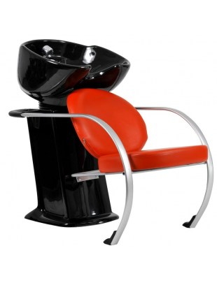 Fiorino - Myjnia fryzjerska - czerwona