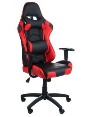 Fotel biurowy RACER CorpoComfort BX-3700 Czerwon
