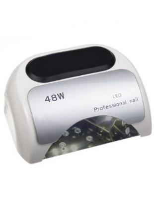 Lampa 48W Dual LED UV Timer + Sensor LED06 Biała