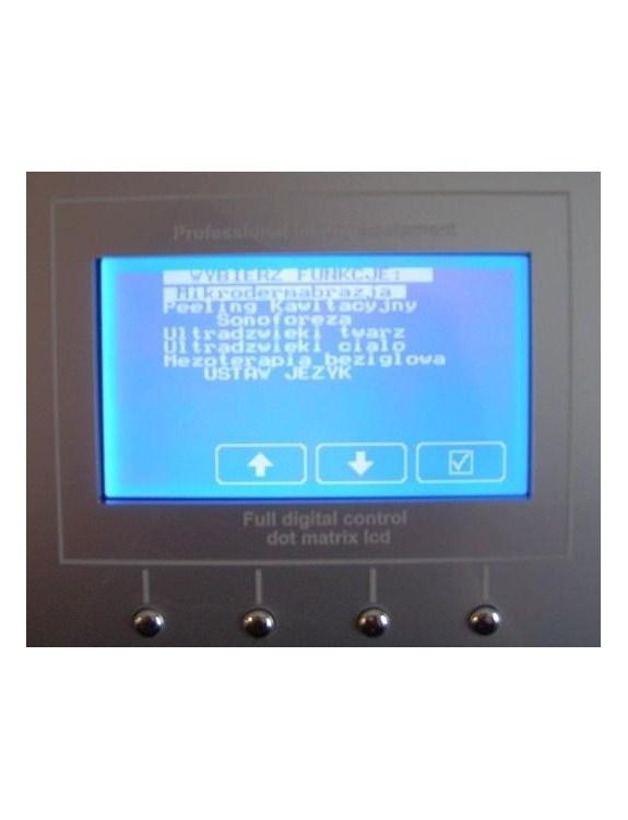 Dotykowy wyświetlacz LCD Kombajnu Kosmetycznego - opcja dodatkowa