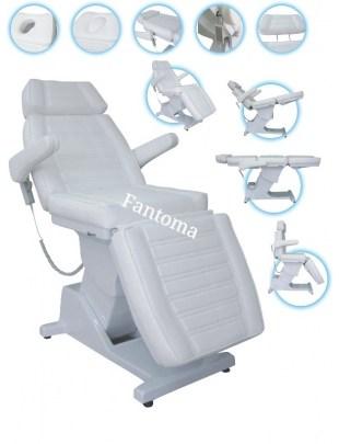 Fotel kosmetyczny ANDY - 4 silnik - elektryczny