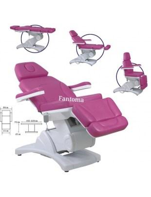 JESSICA - Fotel kosmetyczny 4 silniki - elektryczny