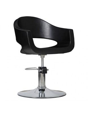 Prato - Fotel fryzjerski czarny