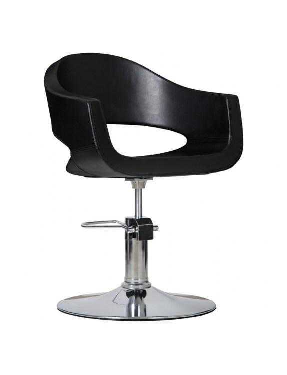 Fotel fryzjerski Prato - czarny