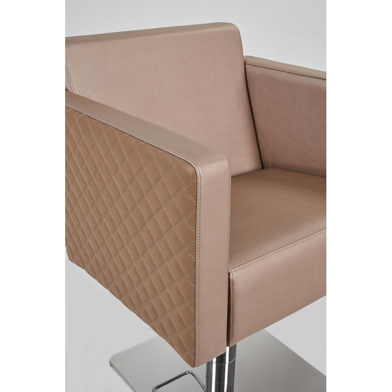 fotele fryzjerskie kwadratowe